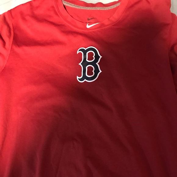 innovative design 904f4 fad6f A Boston Red Sox Nike Dri Fit shirt